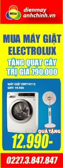may giat electrolux 14112